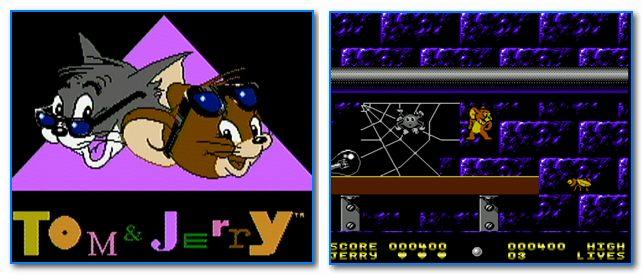 Скрины из игры Том и Джерри