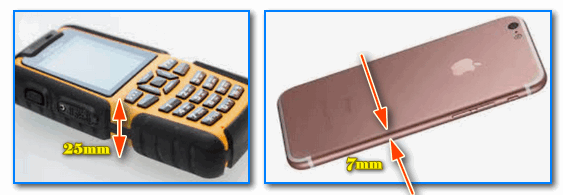 Сравнение разных моделей телефонов