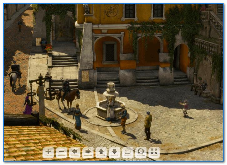 Скрин из игры Witcher 3 (с сайта Nvidia)