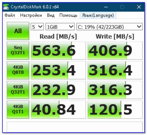 Тест накопителя LonDisk на 240 ГБ