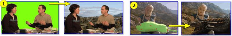2 примера использования хромакея (теперь понятно о чем идет речь?)
