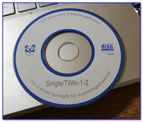 Компакт-диск с драйверами