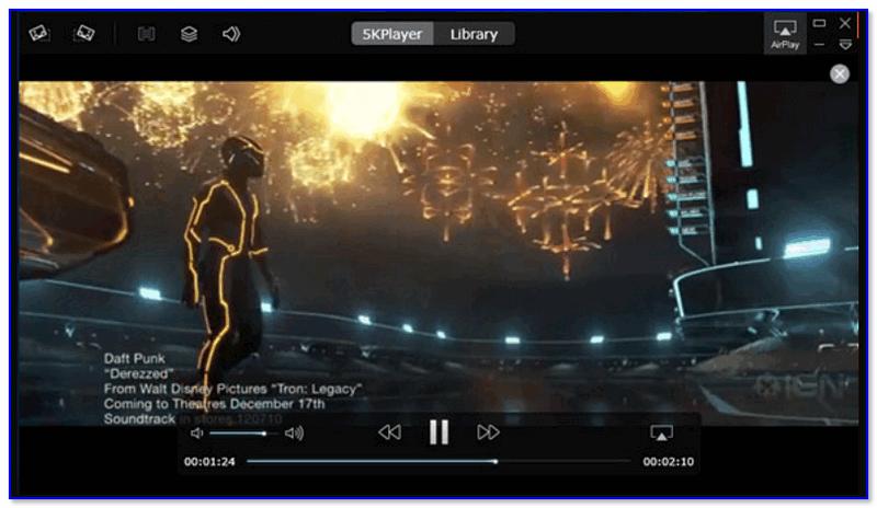 5KPlayer - просмотр фильма