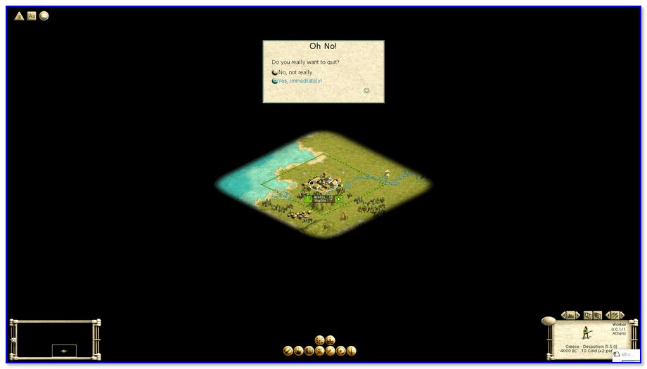 Скриншот из Civilization III — FullHD Разрешение
