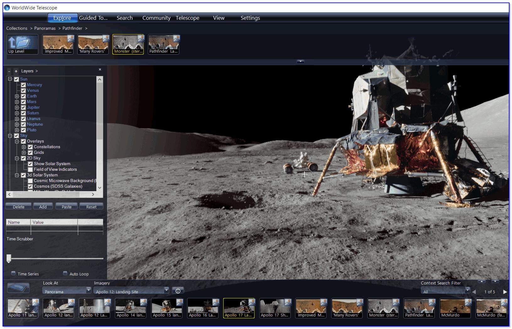 Снимки с миссии Аполлон