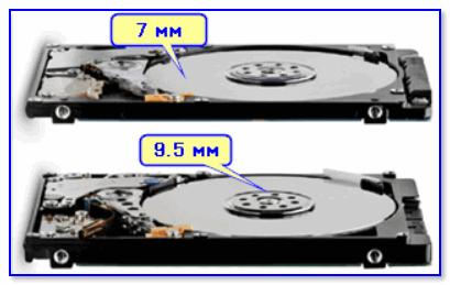 Толщина диска