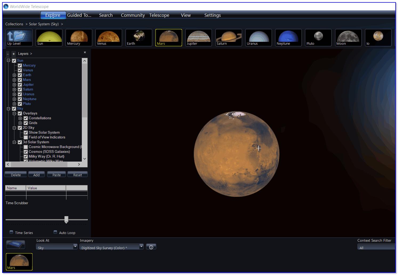 worldwide-telescope-planeta-mars