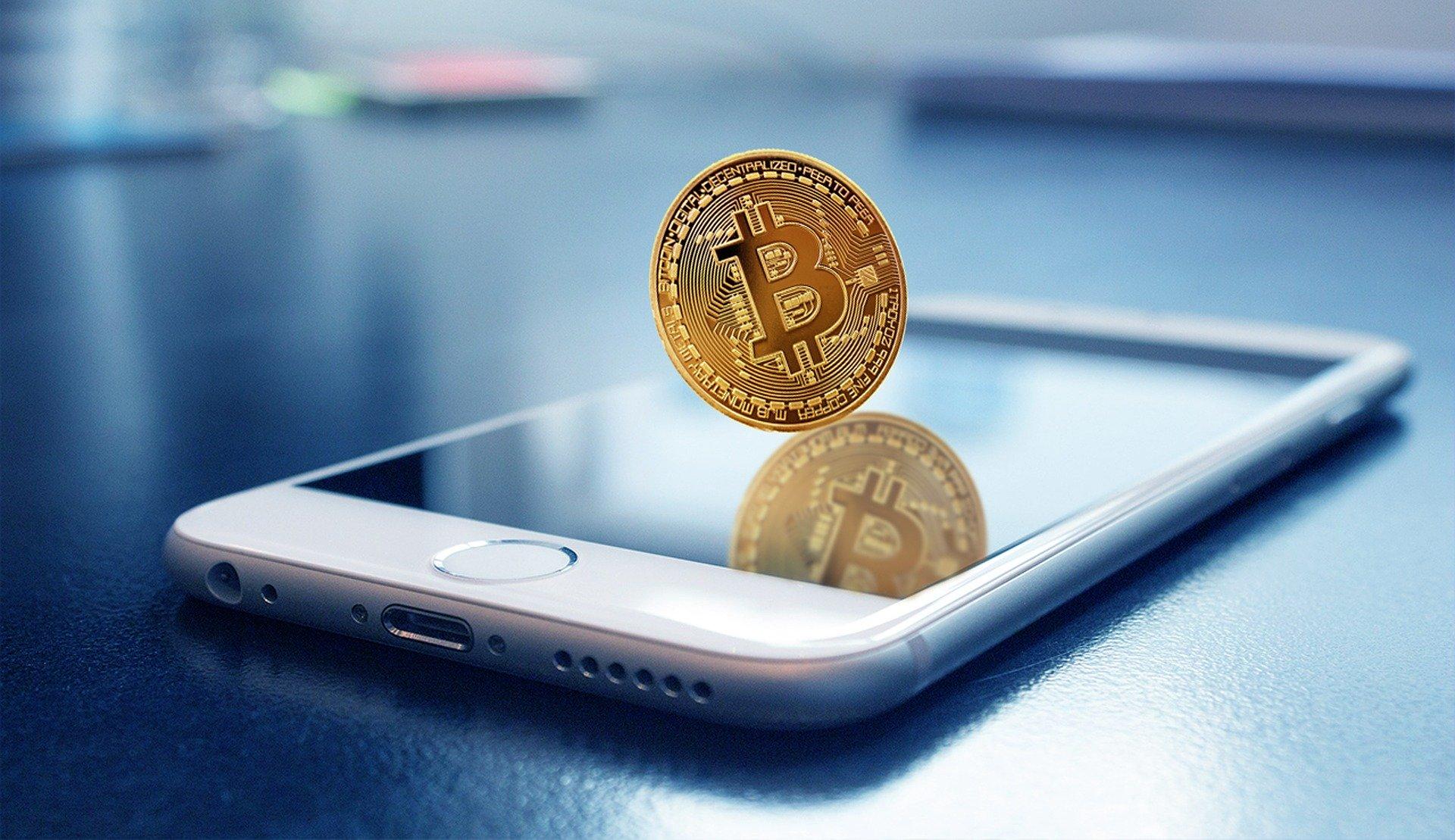 Bitcoin и телефон