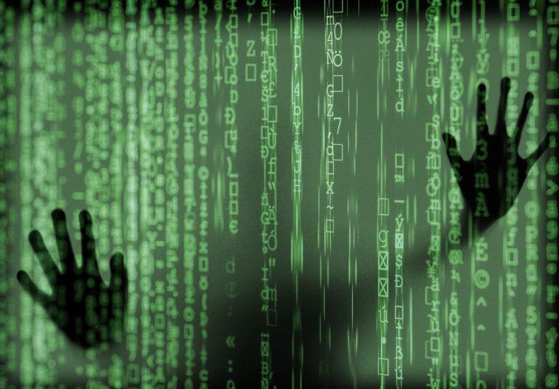 Код вируса в визуальной картинке