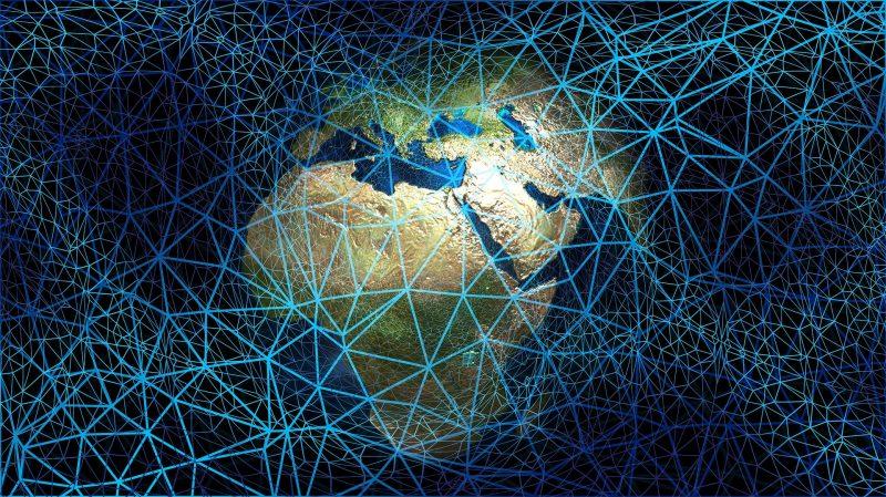 Земля опутана сетью