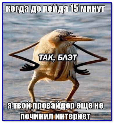 Мем про провайдера