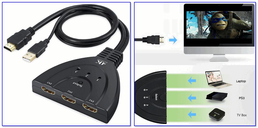 HDMI сплиттер (Amkle Mini) — внешний вид