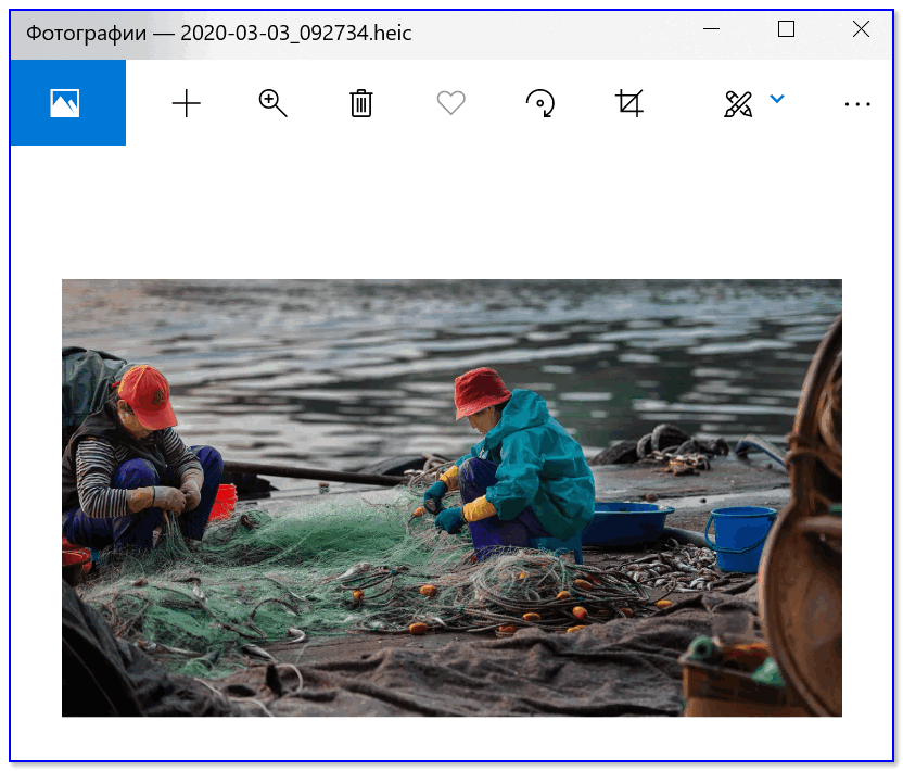 Приложение Фото - в ОС Windows 10