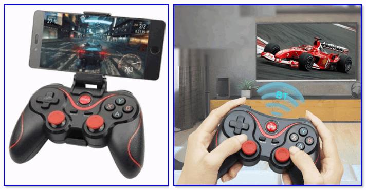 Варианты использования игрового контроллера