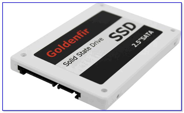 Внешний вид SSD от Goldenfir