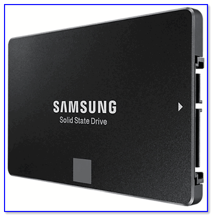 Внешний вид SSD от Samsung