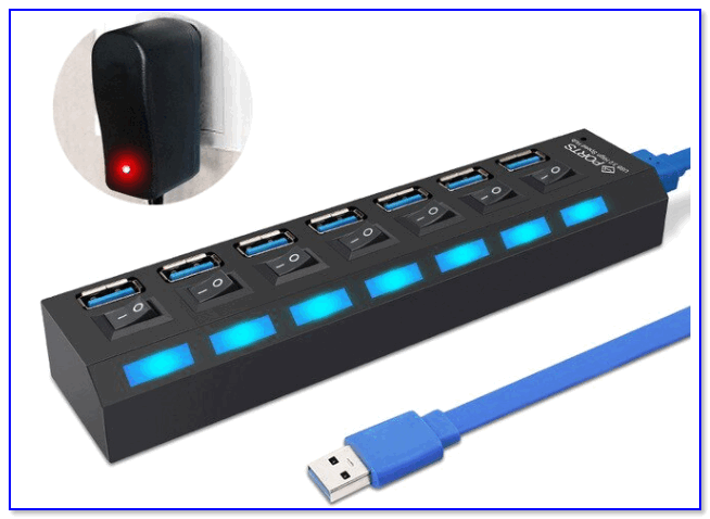 Внешний вид USB-хаба