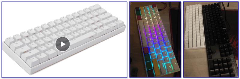 Внешний вид клавиатуры ANNE Pro2