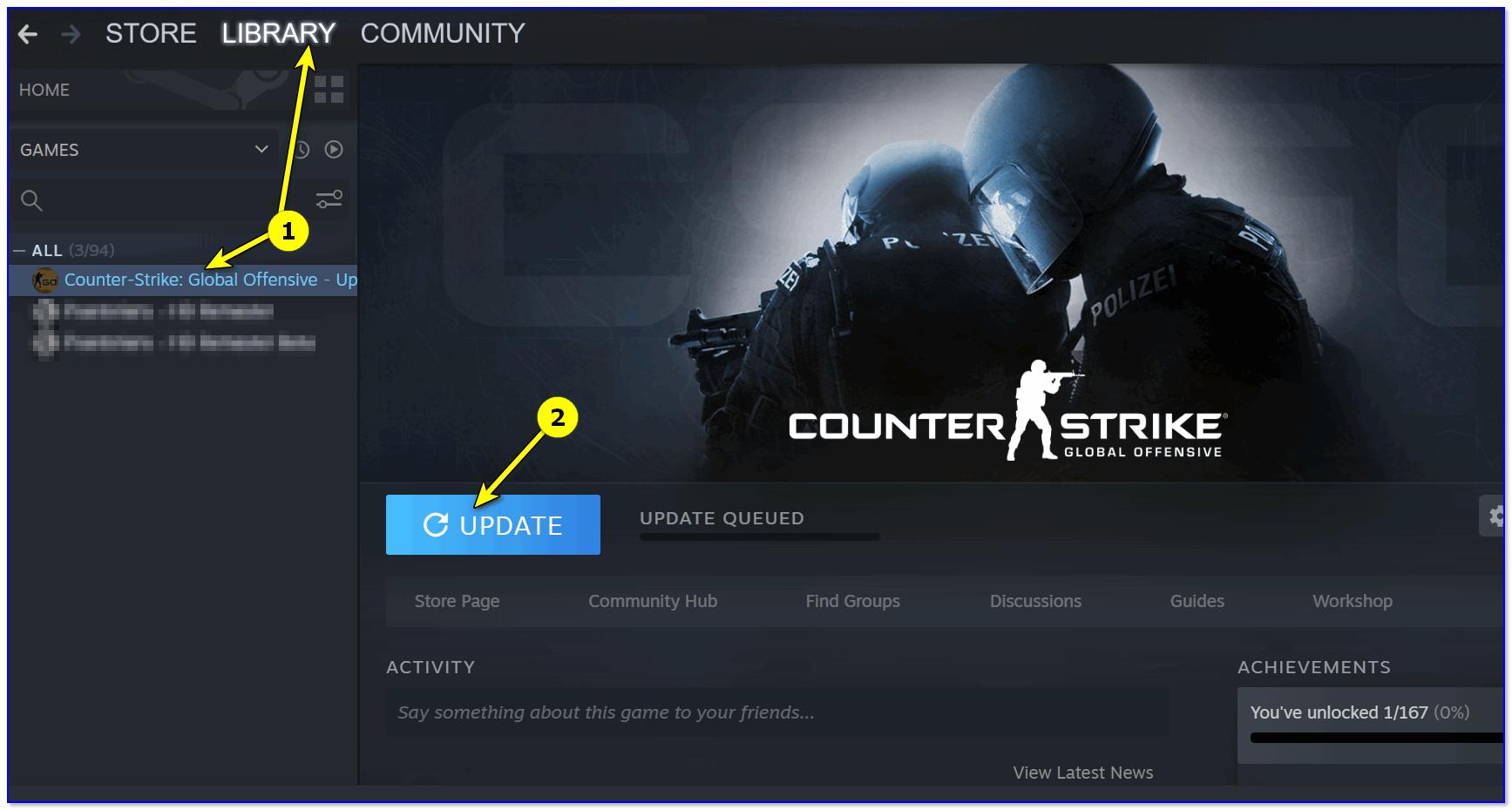Counter-Strike — обновление игры