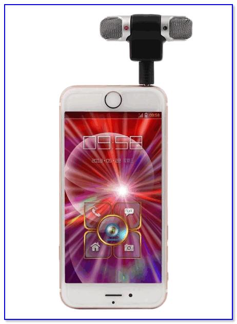 Мини-микрофон для телефона