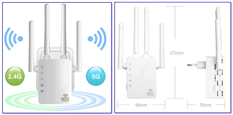 Усилитель Wi-Fi (CF-WR754AC)