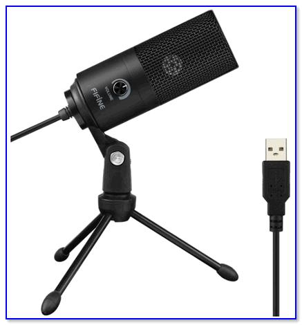Внешний вид микрофона Fifine