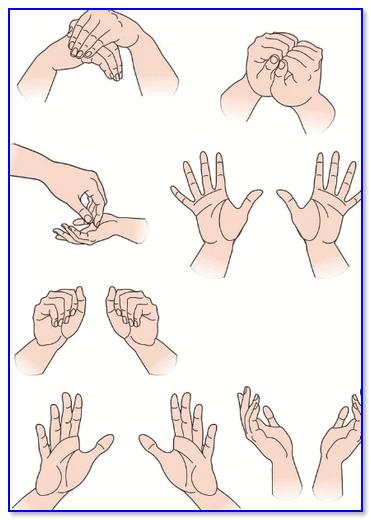 Гимнастика для рук, пальцев, кистей