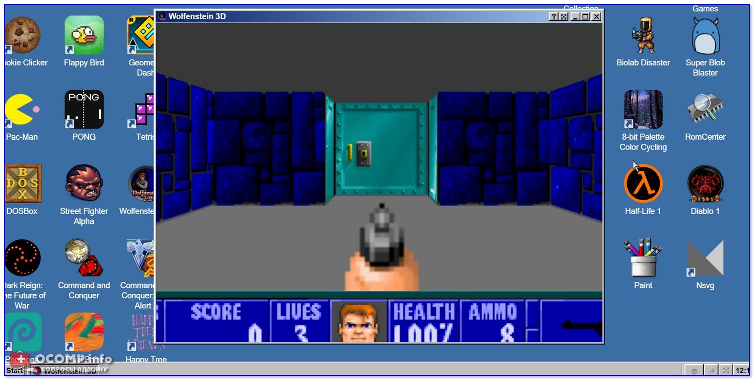 Wolfenstein 3D — запущен прямо в браузере!