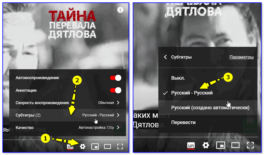 Настройки YouTube (скрин с онлайн-сервиса)