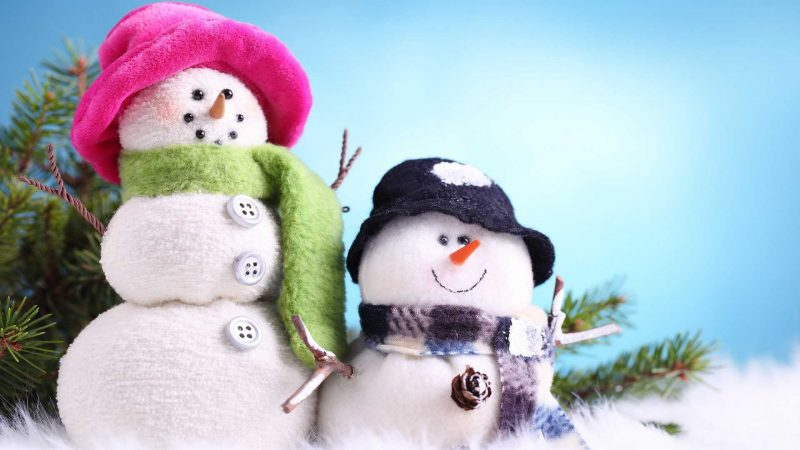 Братья снеговики