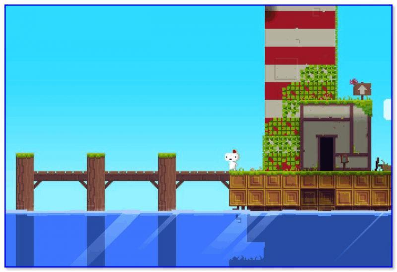 FEZ — скриншот 2 из игры