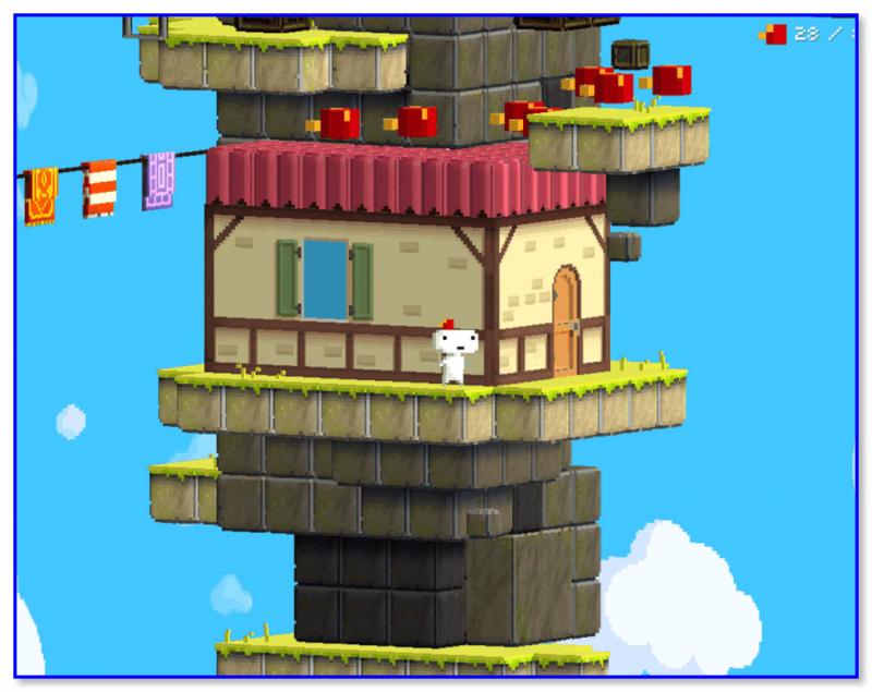 FEZ — скриншот из игры