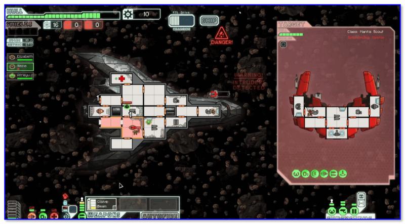 FTL Faster Than Light — скриншот 2 из игры
