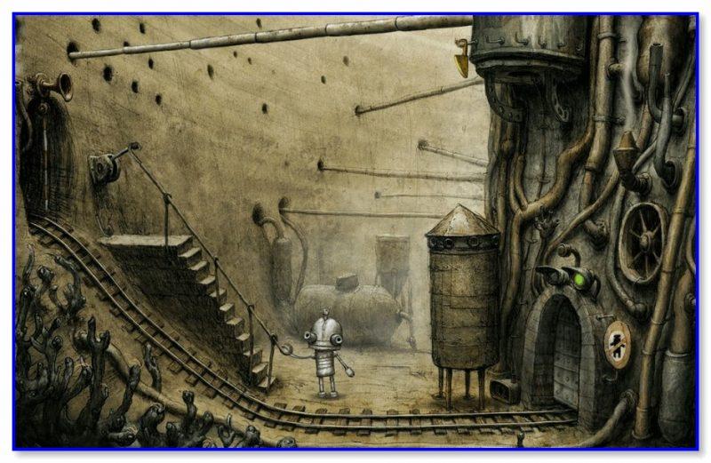Скриншот из Machinarium