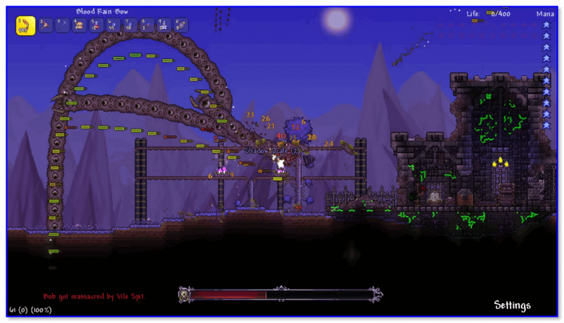 Скриншот из Terraria