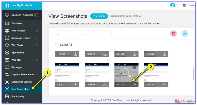Смотреть скриншот — MoniVisor
