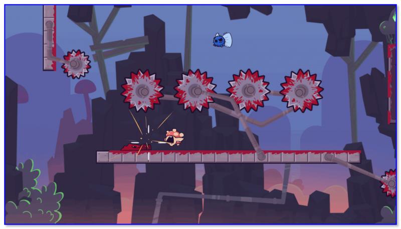 Super Meat Boy — скриншот 2 из игры