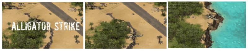 ALLIGATOR STRIKE — скрины из игры