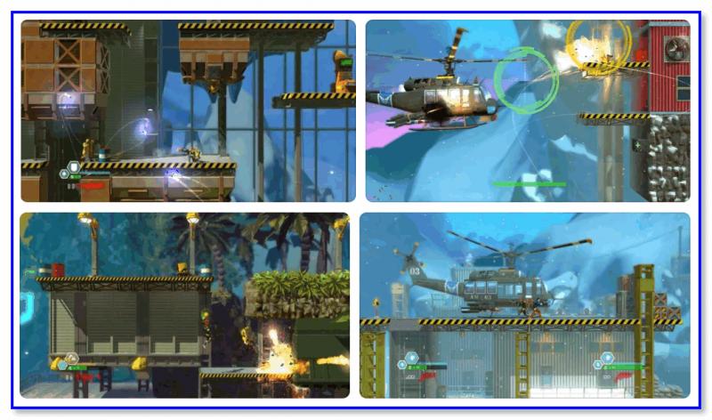 Bionic Commando Rearmed — скриншоты из игры