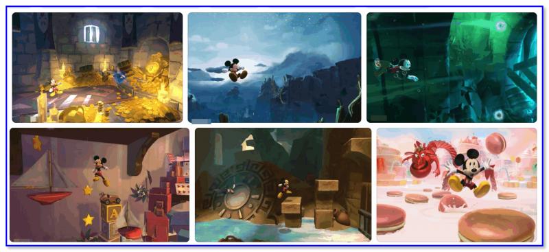 Castle of Illusion — скриншоты из игры