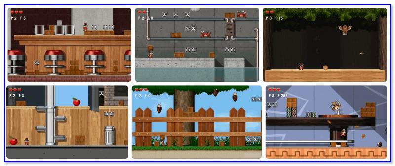 Chipmunk Rangers — скриншоты из игры