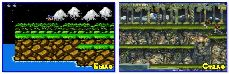 Contra Evolution (справа)