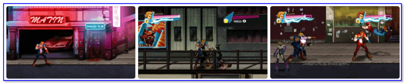 Double Dragon Neon — скриншоты из игры