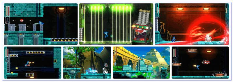 Mega Man 11 — приключения