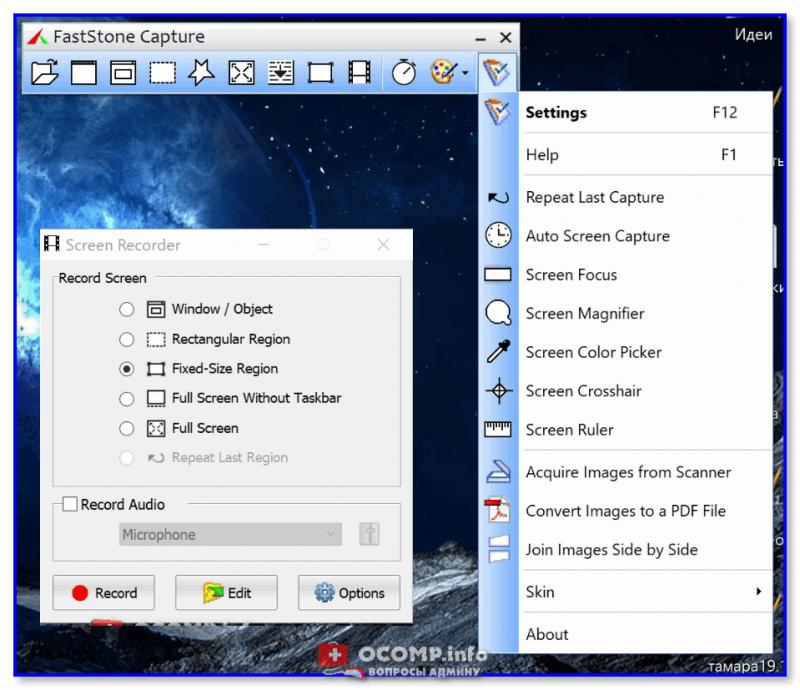 Screen Recorder (Fastone)