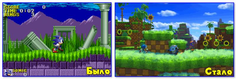 Sonic Forces (справа)