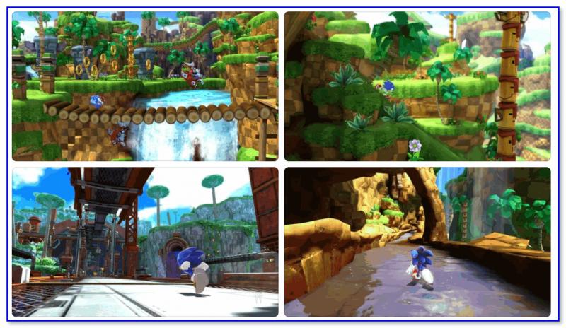 Sonic Generations — скрины из игры