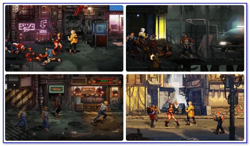 Street of Rage 4 — скриншоты