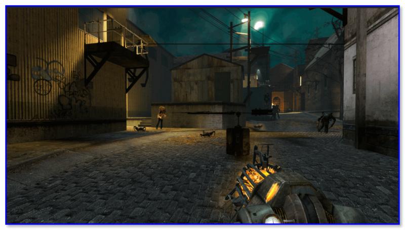 Скриншот из игры Half-life 2