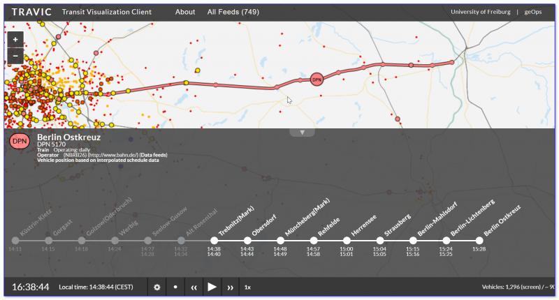 Скриншот с сайта Travic